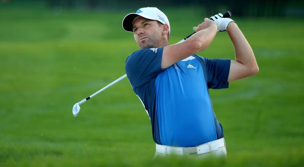 In the hunt: Sergio Garcia is desperate for more victories