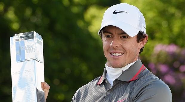 Rory McIlroy will be a busy man next May