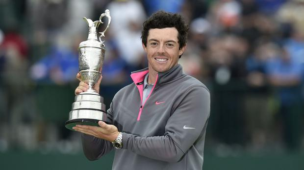 Colin Montgomerie has backed Rory McIlroy, pictured, to dominate the majors in 2015
