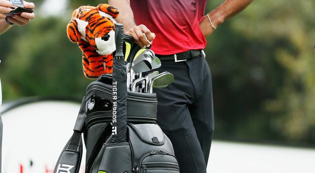 He's back: Tiger Woods is fighting fit again