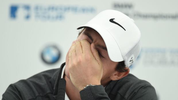 Rory McIlroy, feeling the strain? Don't believe a word of it