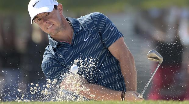 Rory McIlroy moved through the field at Bay Hill with a second round of 66 (AP)