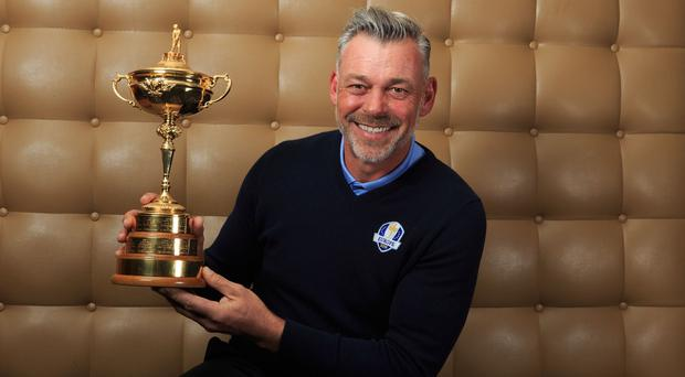 Darren Clarke will lead Europe's bid for a fourth straight Ryder Cup victory in 2016