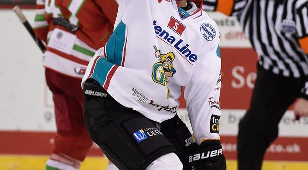 Staying put: Darryl Lloyd has extended his stay in Belfast