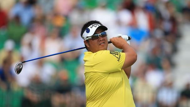 Thailand's Kiradech Aphibarnrat is seeking back-to-back wins in China