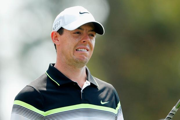 Challenging: Rory McIlroy will begin against Jason Dufner