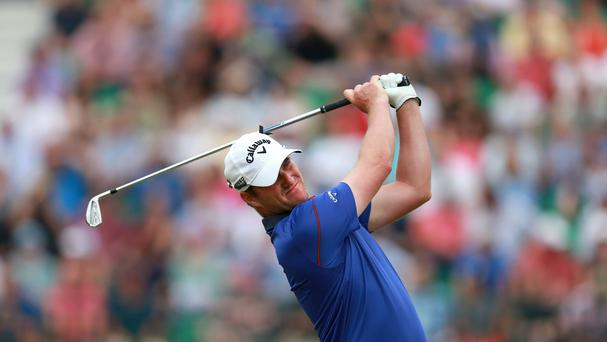 Scotland's Marc Warren was enjoying his WGC-Match Play debut in San Francisco
