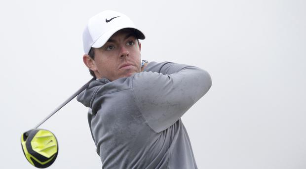 Rory McIlroy quickly gained the upper hand against Hideki Matsuyama