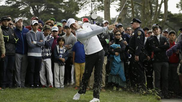 Rory McIlroy trails Jim Furyk in San Francisco (AP)
