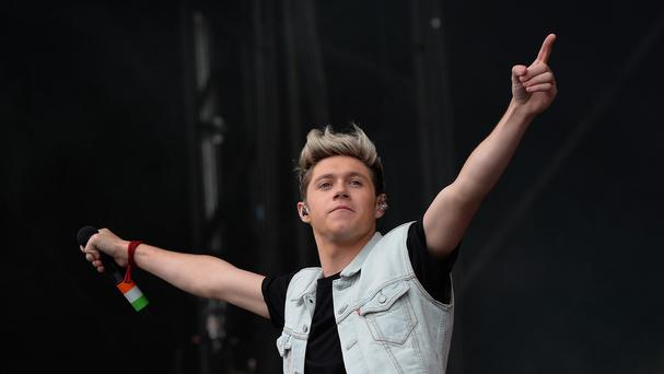 One Direction's Niall Horan, pictured, will play alongside Rory McIlroy