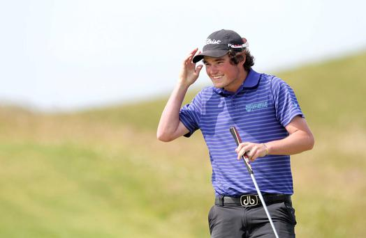 In the mix: Cormac Sharvin is out for Irish Amateur Open joy