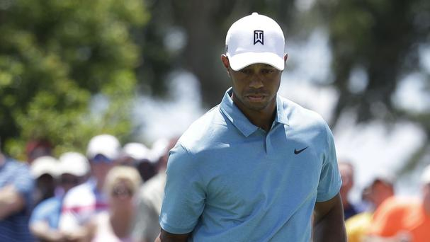 Tiger Woods did enough to make the cut at Sawgrass (AP)