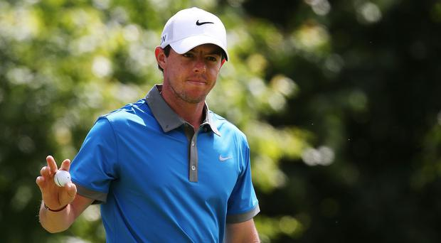 Rory McIlroy was victorious in Charlotte