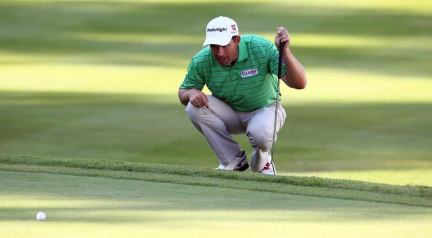 Padraig Harrington admitted he would not be 100 per cent fit at Wentworth