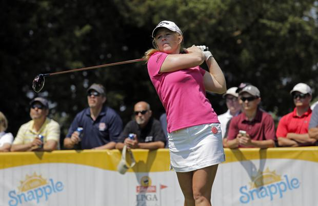 Major boost: Stephanie Meadow has secured a spot in a major, the KPMG Women's PGA Championship