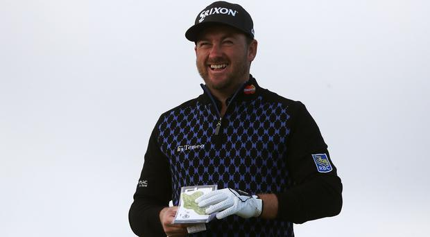 Graeme McDowell is working on his game ahead of next week's US Open