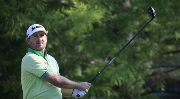 Rough day: Graeme McDowell struggles in Memphis