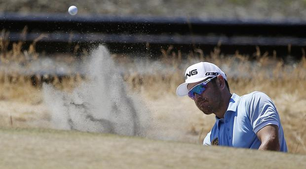 Louis Oosthuizen shot a superb 66 at the US Open (AP)