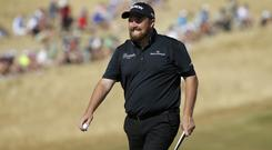 Ireland's Shane Lowry could win his first major title in the US Open (AP)