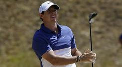 Rory McIlroy had mixed emotions after his closing 66 at Chambers Bay (AP)