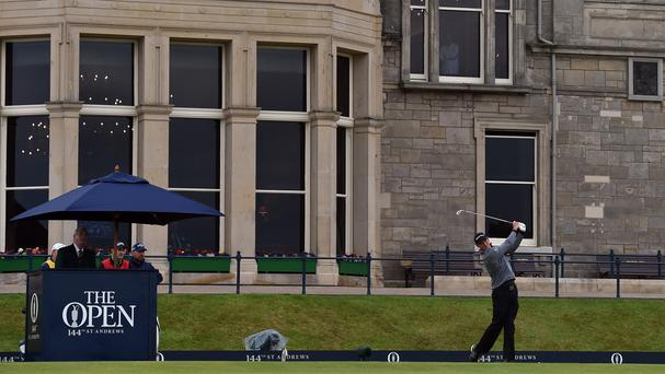 England's Greg Owen opened with a birdie at the Open