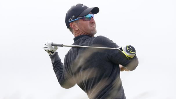 Former champion David Duval made an early move on Sunday