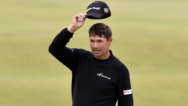 Padraig Harrington is back in contention at a major again