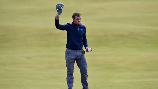 Ireland's Paul Dunne is in Open title contention