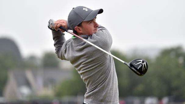 A poor start cost Irish amateur Paul Dunne at the Open