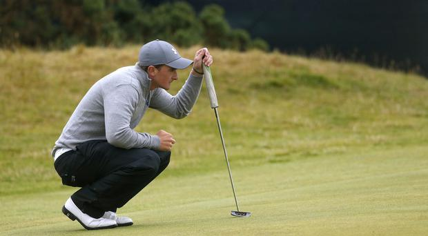 Ireland's Paul Dunne shot 71 in his opening round