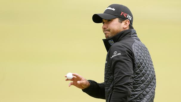 Australia's Jason Day is on top of the world