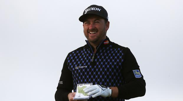 A relaxed Graeme McDowell is five off the lead at the halfway point in Turkey