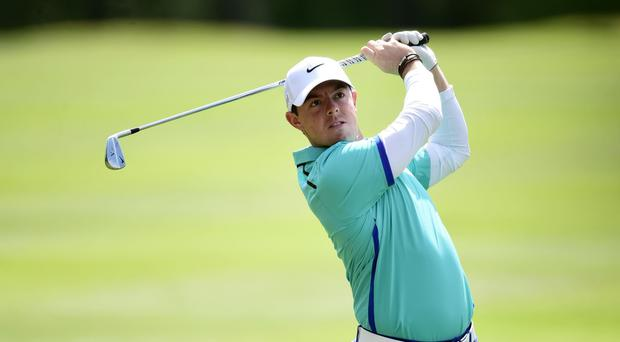 Rory McIlroy was fit enough to contest the HSBC Champions event after a bout of food poisoning