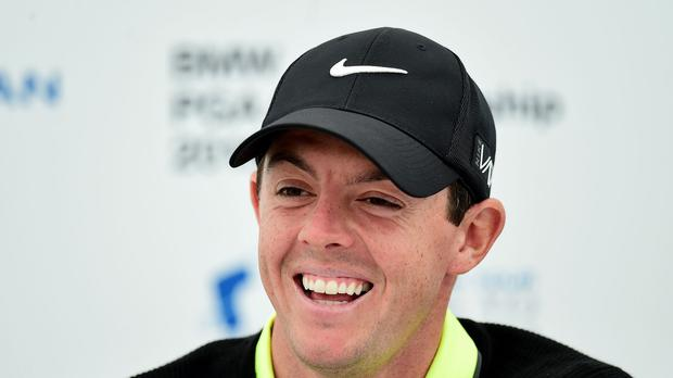 Rory McIlroy has backed chief executive Keith Pelley's