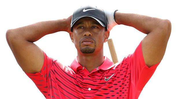 Tiger Woods admitted he has no timetable for his return