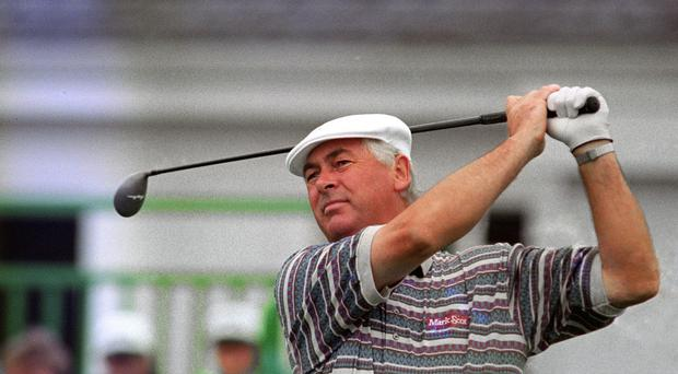 Golfer Christy O'Connor Jnr, whose funeral has taken place