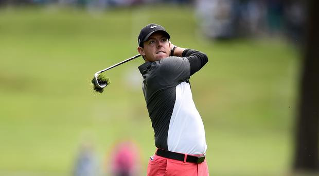 Defending champion Rory McIlroy recovered from an early blunder in Dubai