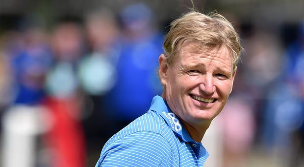 Ernie Els looks to have overcome putting problems to contend in Dubai