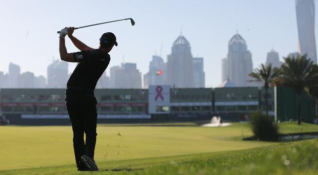 Danny Willett leads in Dubai (AP)