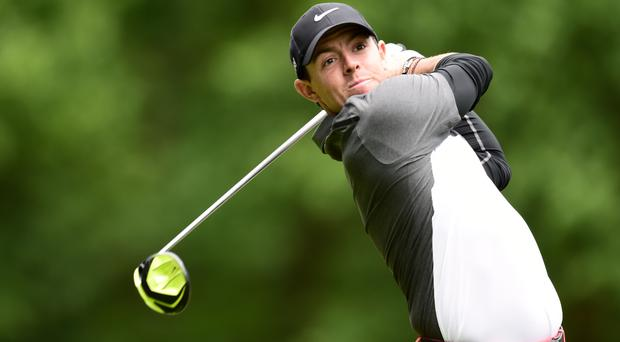 Rory McIlroy is in contention in California