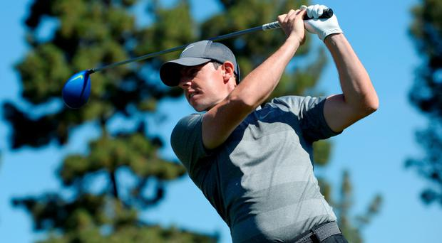 Driving ahead: Rory McIlroy wants to give his season a boost at this week's Honda Classic at the PGA National in Palm Beach