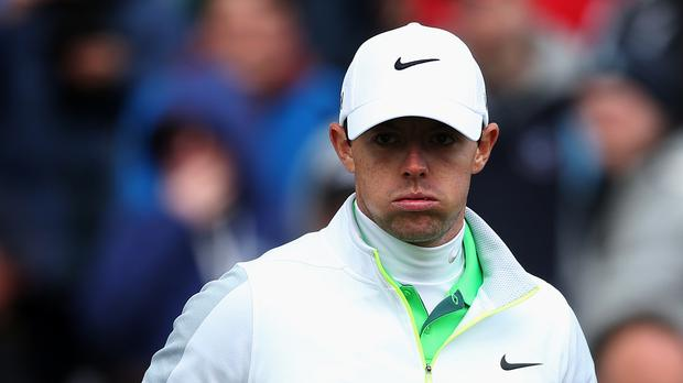 Rory McIlroy was disappointed to blow a chance of victory at Riviera