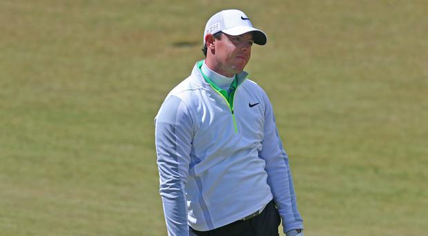 Rory McIlroy felt he was too conservative during the final round at Doral