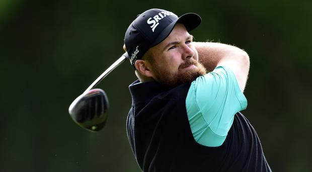 Shane Lowry was two shots off the lead after day one of the Masters