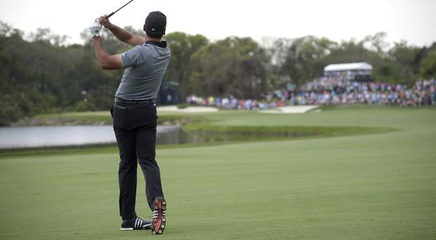 Jason Day is joint first in South Carolina (AP)