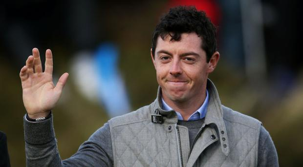 Rory McIlroy tweets he will be there to support Carl.