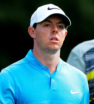 Hitting form: Rory McIlroy