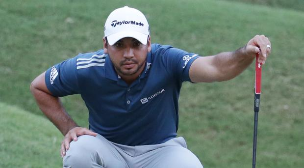 Jason Day was setting a record pace at the halfway stage of the Players Championship (AP)