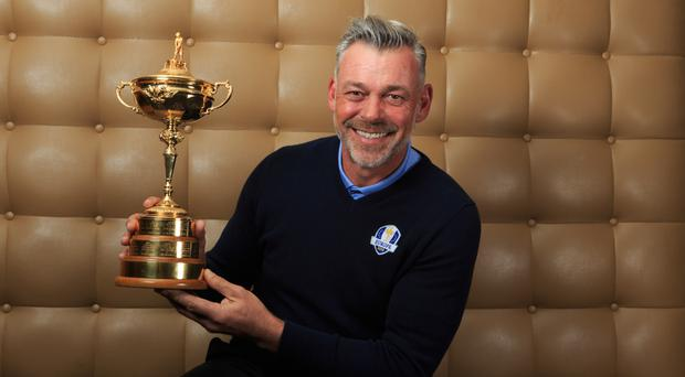 Darren Clarke has named three of his five vice-captains for the 2016 Ryder Cup