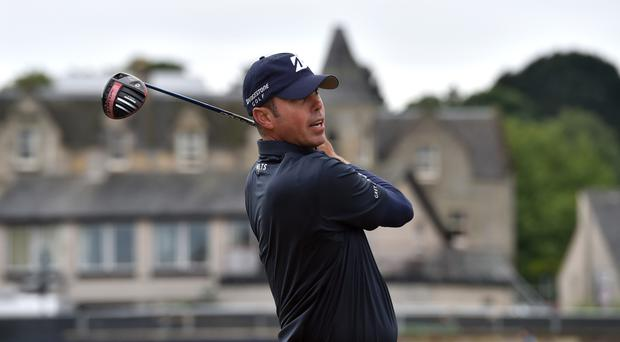 Matt Kuchar is in a tie for the lead at Muirfield Village.